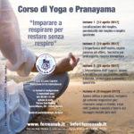corso di yoga e pranayama, subacquea, apnea, respiro