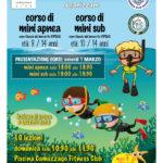 Corsi minisub e miniapnea 2019 Monza